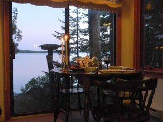 Quiet Beachfront Artist's Home