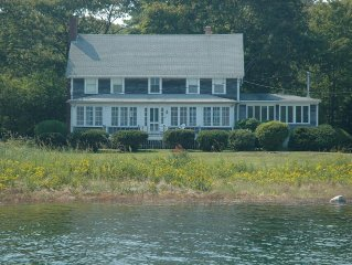 Waterfront Home, With Pier & Lighthouse View