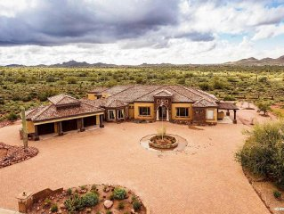Luxury Home at Superstition Mtn, Amazing Views, Paradise For Lovers Of Nature