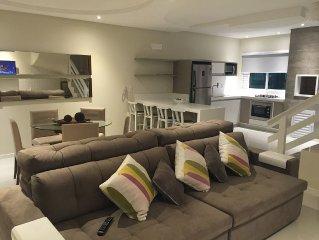 Casa FRENTE AO MAR (3 suites), Petit Village, praia de Mariscal, Bombinhas