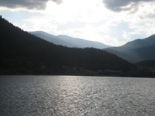 Mountain Home on Beautiful Scenic Lake!  Is this the view you are looking for?