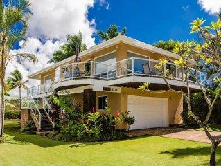 Best Rate Upgraded 4 Bedroom Luxury Poipu Home -  Baby Beach