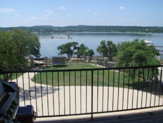 Lake Travis Waterfront Compound with Dock on 3 acres