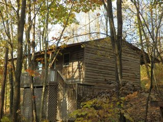 Affordable cabin near Raystown Lake, minutes from Seven Points & Allegrippas Tr