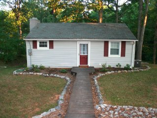 Quiet Cove, Waterfront Cottage on SML. Fully Furnished, Peaceful Setting