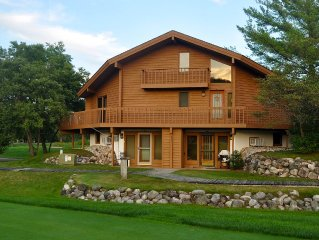 Cute, clean 1bdr condo on the Schuss course , view of slopes WIFI,on golf course