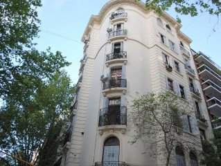 Paris in Buenos Aires: Luxury 2 Bedroom Apartment in the Heart of Recoleta