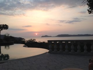 Breathtaking View of Bay of Papagayo and Pacific Ocean - Sleeps 8