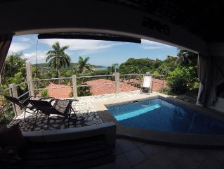 DJ's Getaway*CR, Ocean View*VillaSol , 3 BR-2 bath Villa, sleeps 8, Wifi