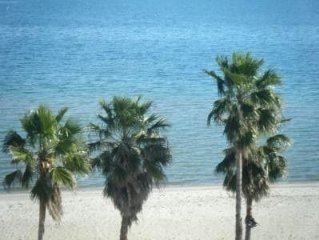 Beachfront Elegant Affordable Condo Sleeps 5-6 Cable TV/DVD Player, FREE WIFI!!