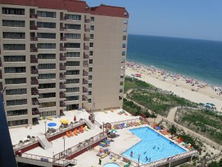 Lovely 3 Bedroom-2 Bath Oceanfront Condo Right on the Beach - Unit 904