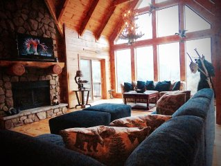Private Large Cabin. Walk to water/boat slip, fish, swim, sunsets, relax, getawa