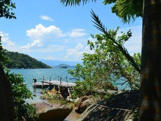 Casa de frente para o mar! Um paraíso exclusivo.
