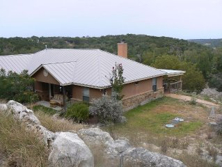 Hill Country Hollow Home is Nestled In the Beautiful Texas Hill Country