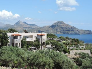Wonderful view to Lybian sea,safety,traditional family atmosfaira,normal prices.