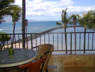 SPECIAL April 2-6 & May 1-6!  Absolute OCEANFRONT TOP FLOOR!