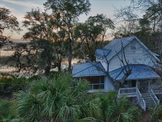 Water View Cottage - Private Island - Colleton River Plantation