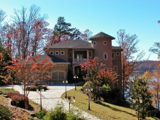 Mediterranean Retreat on Lanier with Private Pool.Dock .Sauna