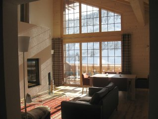 A Luxury ski-in, ski-out penthouse apartment with all conveniences