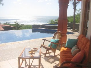 Phenomenal ocean view from infinity pool. 'Very high end home'.