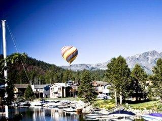 Luxury Waterfront Lake Tahoe Home - Hot Tub, Boat Dock, Pool Table Permit #00324