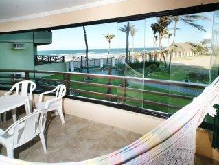 Aquaville Resort - Vista para o mar - Bloco 82 - 3 suites