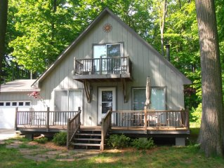 Cottage With All-Sports Lake Access, WIFI, AC, HDTV