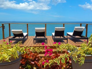 BEAUTIFUL AND ELEGANT 5 BDRM OCEAN FRONT HOUSE WITH DIRECT ACCESS TO THE OCEAN