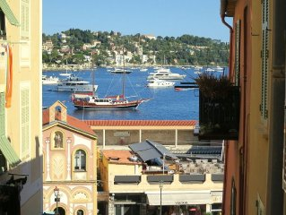 Spacious, Charming Apartment In Prime Villefranche Location