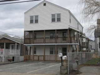 Salisbury Beach, MA, Near Center First Floor 1 min easy access to sand
