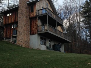 Mountain Home That Sleeps 8 Close To Bromley And Stratton Mountain Ski Resorts