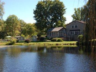 Summer weeks still available  - Farmhouse w/modern amenities, pool & hot tub