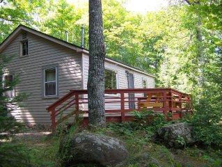 Oak Ridge Cottage on the Best Fishing Lake in the Northwoods