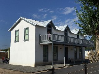 Historic Two Story Adobe Home In The Heart Of Marfa