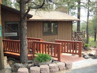 Hidden Vista - You'll love the spectacular views from a spacious deck.