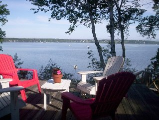 Harpswell waterfront-Orr's Island cottage with views-booking now for summer 2018