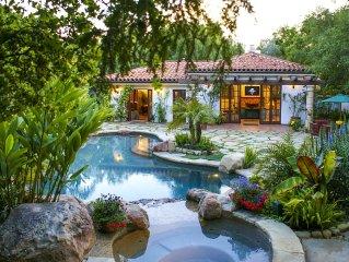Cabana Las Floras- A Tropical Cabana Paradise with Pool, Spa, and WiFi