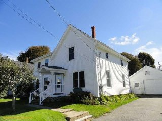 Charming New Englander with Coastal Character Steps from Everything