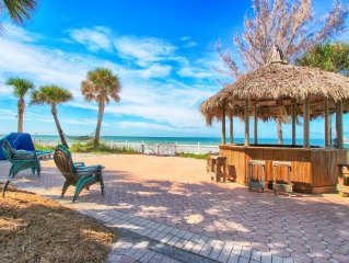 Beachfront Private Residence, No Condos Nearby, with Your own Tiki Bar!