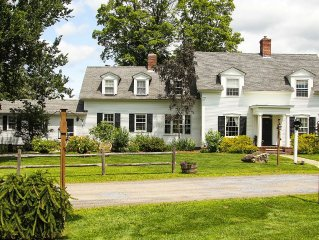 The 1824 House Inn: Charming Central Vermont Farmhouse