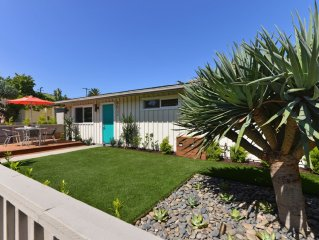 La Jolla Shores' Immaculate Renovated Mid-century Cottage