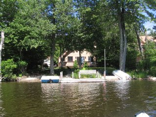 Relaxing Lakefront Cabin w/ Private Beach, Dock, 4 Boats, Sauna, Dog Friendly!!!