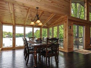 Lake Front Home, Arcade, Hot Tub, dock, deck, swim-boat-fish, Private community