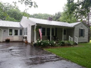 Cozy, Clean and Comfy 2 Bedroom On Quiet Country Road 2 Miles To Center Of Town