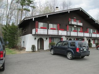 Across from StoryLand, close to Skiing, Hiking, Swimming, Tennis,Golf