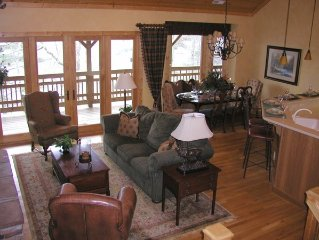 Winter Holidays Available  - Upscale Home on Lake Glenville in Trillium Club