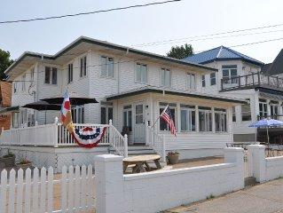 Beautiful Beachfront Home on North Beach Sleeps 14.