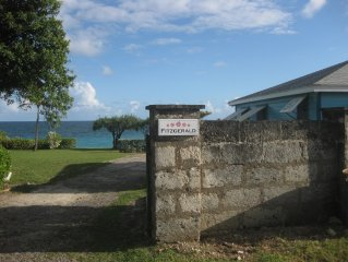 Ocean Front 2 Bedroom Bungalow on Private Estate