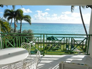 Relax on beautiful Worthing Beach, Barbados