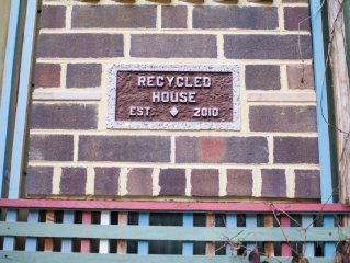 The Recycled House - Walk Downtown